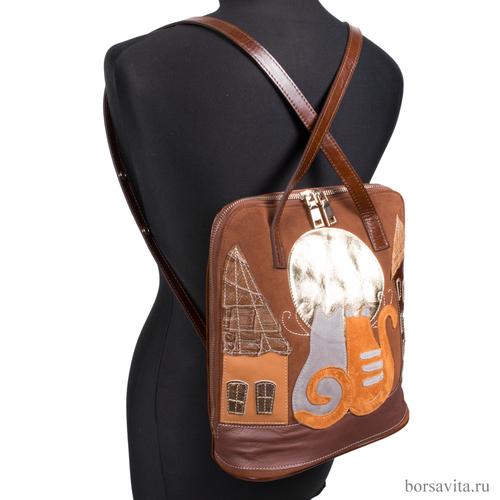 Женская сумка-рюкзак ELBI 447