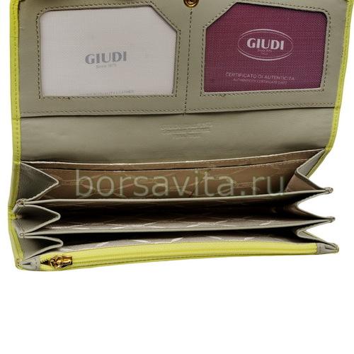 Женский кошелек Giudi 6541/CTP/Q-16