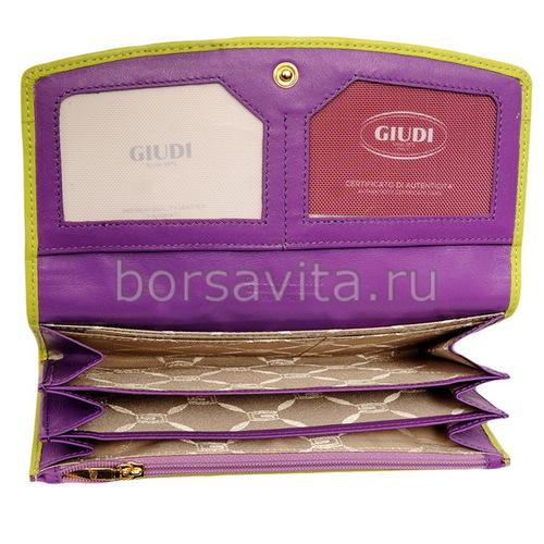 Женский кошелек Giudi 6541/CTP/Q-38