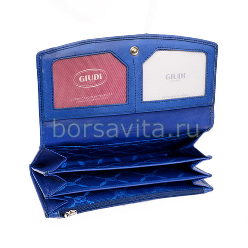 Женский кошелек Giudi 6541/STR/VLV-FU